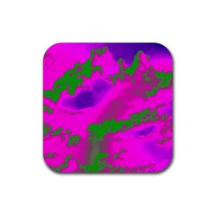 Sky Pattern Rubber Square Coaster (4 Pack)  by Valentinaart