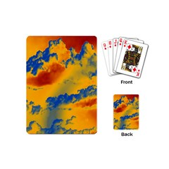 Sky Pattern Playing Cards (mini)  by Valentinaart