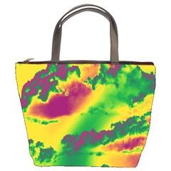 Sky Pattern Bucket Bags by Valentinaart