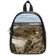 Miradores De Darwin, Santa Cruz Argentina School Bags (small)  by dflcprints