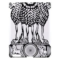 National Emblem Of India  Apple Ipad 3/4 Hardshell Case by abbeyz71