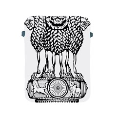 National Emblem Of India  Apple Ipad 2/3/4 Protective Soft Cases by abbeyz71