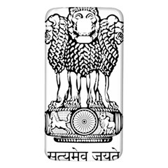 National Emblem Of India  Samsung Galaxy S5 Back Case (white) by abbeyz71