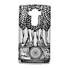 National Emblem Of India  Lg G4 Hardshell Case by abbeyz71