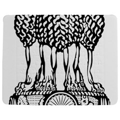 National Emblem of India  Jigsaw Puzzle Photo Stand (Rectangular)