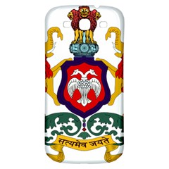 State Seal Of Karnataka Samsung Galaxy S3 S Iii Classic Hardshell Back Case by abbeyz71