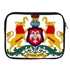 State Seal Of Karnataka Apple Ipad 2/3/4 Zipper Cases by abbeyz71