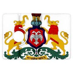 State Seal Of Karnataka Kindle Fire Hdx Flip 360 Case by abbeyz71