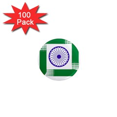 Seal Of Indian State Of Jharkhand 1  Mini Magnets (100 Pack)  by abbeyz71