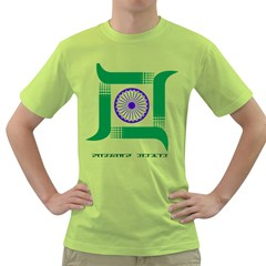 Seal of Indian State of Jharkhand Green T-Shirt