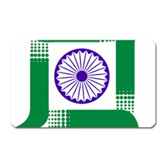 Seal Of Indian State Of Jharkhand Magnet (rectangular) by abbeyz71