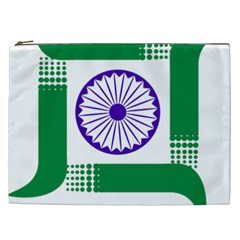 Seal Of Indian State Of Jharkhand Cosmetic Bag (xxl)  by abbeyz71