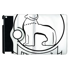 Seal Of Indian State Of Manipur Apple Ipad 3/4 Flip 360 Case by abbeyz71