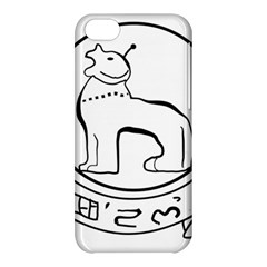 Seal Of Indian State Of Manipur Apple Iphone 5c Hardshell Case by abbeyz71