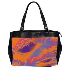 Sky Pattern Office Handbags (2 Sides)  by Valentinaart