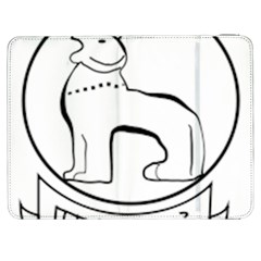 Seal Of Indian State Of Manipur  Samsung Galaxy Tab 7  P1000 Flip Case by abbeyz71