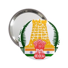 Seal Of Indian State Of Tamil Nadu  2 25  Handbag Mirrors by abbeyz71