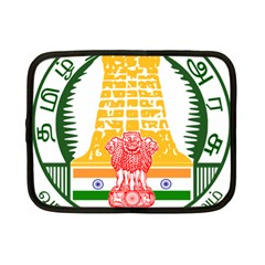 Seal Of Indian State Of Tamil Nadu  Netbook Case (small)  by abbeyz71