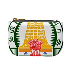 Seal Of Indian State Of Tamil Nadu  Mini Coin Purses by abbeyz71