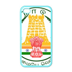 Seal Of Indian State Of Tamil Nadu  Apple Iphone 4 Case (color) by abbeyz71