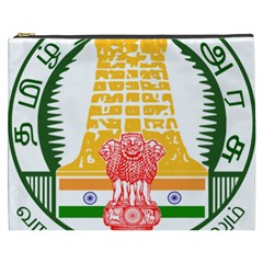 Seal Of Indian State Of Tamil Nadu  Cosmetic Bag (xxxl)  by abbeyz71