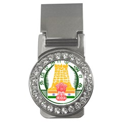 Seal Of Indian State Of Tamil Nadu  Money Clips (cz)  by abbeyz71