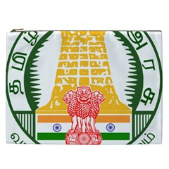Seal Of Indian State Of Tamil Nadu  Cosmetic Bag (xxl)  by abbeyz71