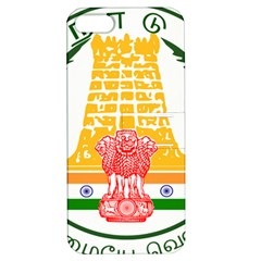 Seal Of Indian State Of Tamil Nadu  Apple Iphone 5 Hardshell Case With Stand by abbeyz71