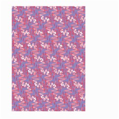 Pattern Abstract Squiggles Gliftex Large Garden Flag (two Sides) by Nexatart