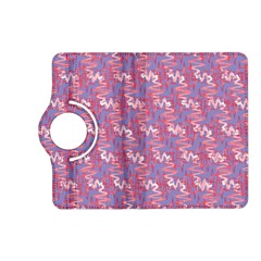 Pattern Abstract Squiggles Gliftex Kindle Fire Hd (2013) Flip 360 Case