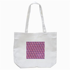 Pattern Abstract Squiggles Gliftex Tote Bag (white) by Nexatart