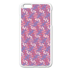 Pattern Abstract Squiggles Gliftex Apple Iphone 6 Plus/6s Plus Enamel White Case by Nexatart