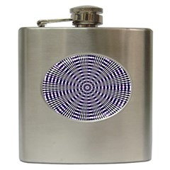 Pattern Stripes Background Hip Flask (6 Oz) by Nexatart