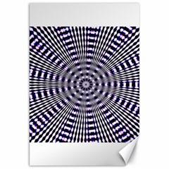 Pattern Stripes Background Canvas 20  X 30   by Nexatart