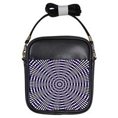 Pattern Stripes Background Girls Sling Bags by Nexatart