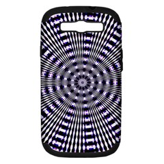 Pattern Stripes Background Samsung Galaxy S Iii Hardshell Case (pc+silicone) by Nexatart