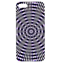 Pattern Stripes Background Apple Iphone 5 Hardshell Case With Stand by Nexatart