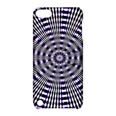 Pattern Stripes Background Apple Ipod Touch 5 Hardshell Case With Stand by Nexatart