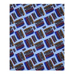 Abstract Pattern Seamless Artwork Shower Curtain 60  X 72  (medium)  by Nexatart