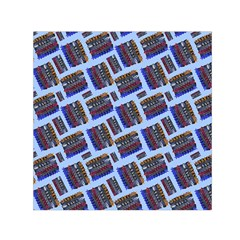 Abstract Pattern Seamless Artwork Small Satin Scarf (square) by Nexatart