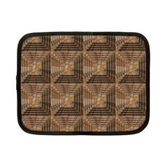 Collage Stone Wall Texture Netbook Case (small)  by Nexatart