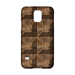 Collage Stone Wall Texture Samsung Galaxy S5 Hardshell Case  by Nexatart