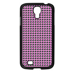 Pattern Grid Background Samsung Galaxy S4 I9500/ I9505 Case (black) by Nexatart