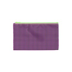 Pattern Grid Background Cosmetic Bag (xs) by Nexatart