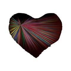 Background Vector Backgrounds Vector Standard 16  Premium Flano Heart Shape Cushions by Nexatart