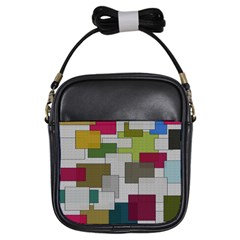 Decor Painting Design Texture Girls Sling Bags by Nexatart