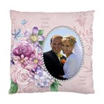Wishes & Kisses Pillow - Standard Cushion Case (Two Sides)