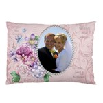 Wedding 2 Sided Pillow Case - Pillow Case (Two Sides)