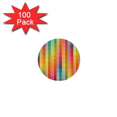 Background Colorful Abstract 1  Mini Buttons (100 Pack)  by Nexatart