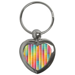 Background Colorful Abstract Key Chains (heart)  by Nexatart